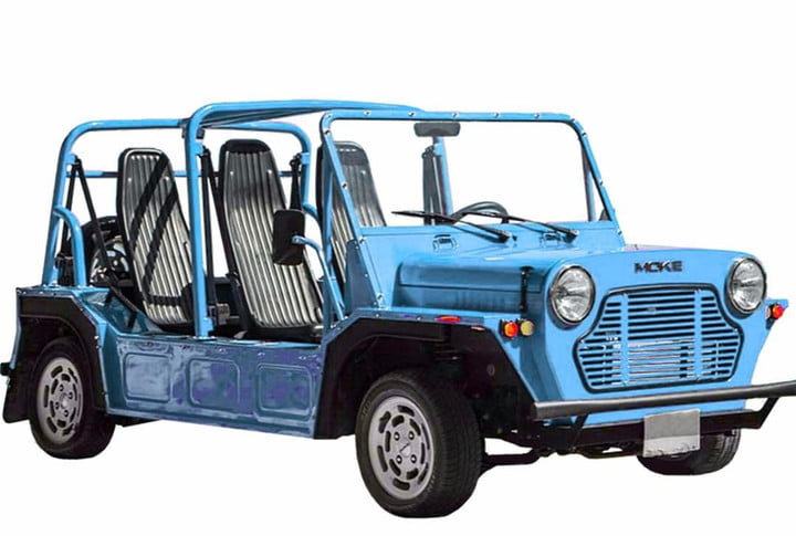 An Enigmatic New York Based Company Named Moke America Wants To Make Your Summer Ride Electric Convertible We Re Not Talking About A Track Honed Sports