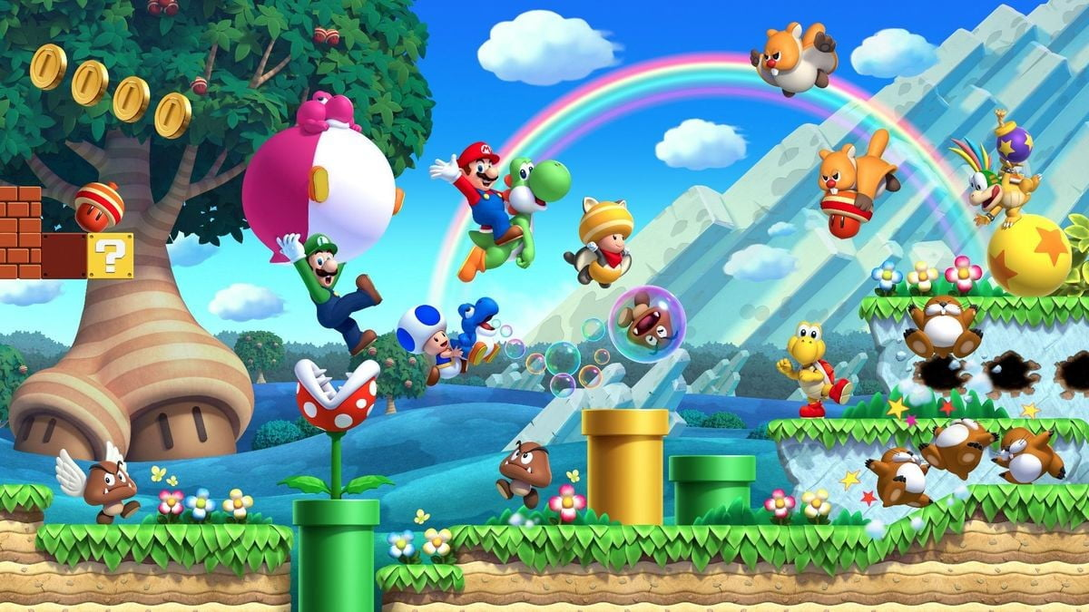 New Super Mario Bros U Deluxe Get Extra Life With Our Tips And