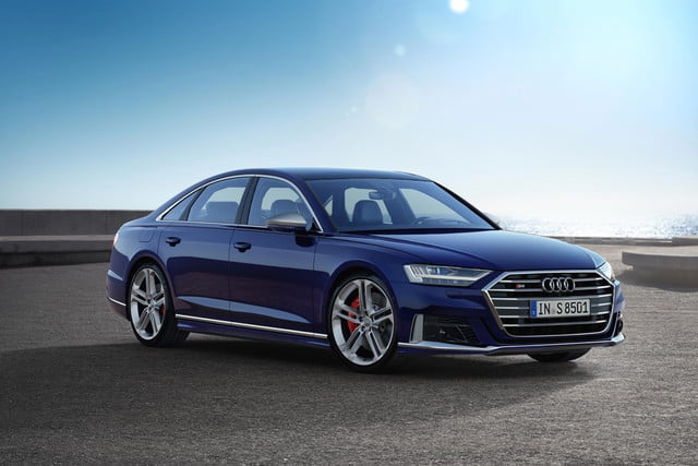 2020 Audi S8 packs twin-turbocharged V8 muscle into a discreet form
