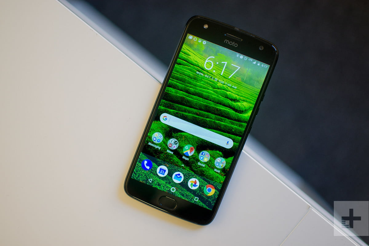 Moto X4 Android One review full angle