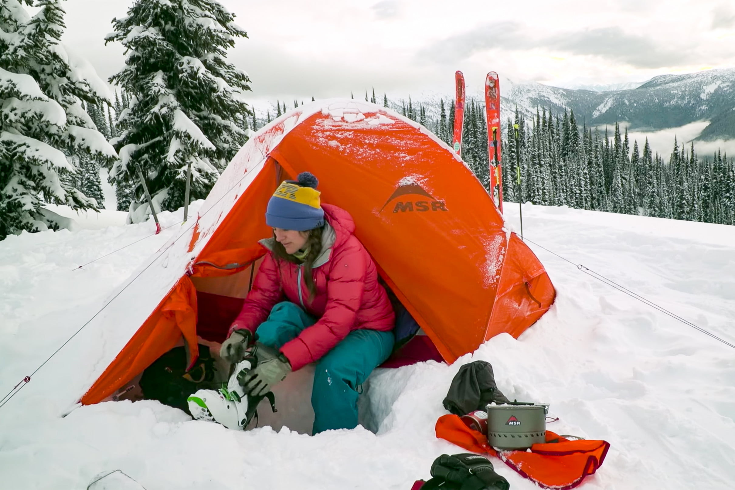 best 4 season tents msr access 2 lifestyle & The Best 4-Season Tents To Keep You Cozy All Winter | Digital Trends