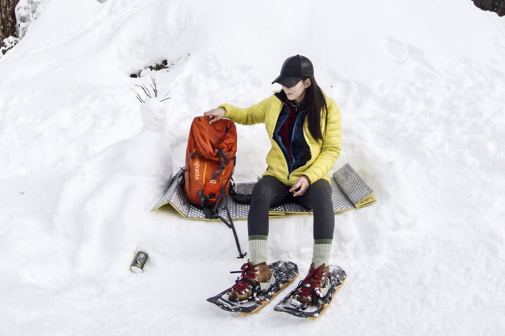 5bea18db65ce1 Lightweight, fast, and durable, MSR's Lightning Ascent snowshoes are  versatile enough to be used on just about any type of terrain.
