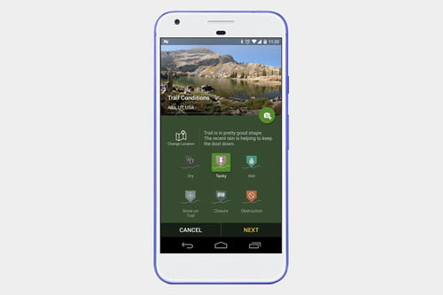 The Best Hiking Apps Digital Trends