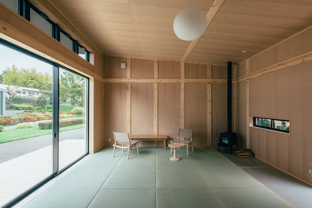 the muji hut is a micro home made for japan of cork 03