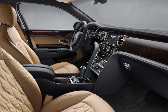 bentley engineering boss interview mulsanne extended whelbase front cabin