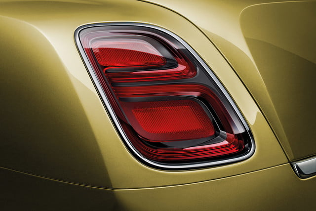 bentley engineering boss interview mulsanne speed rear light