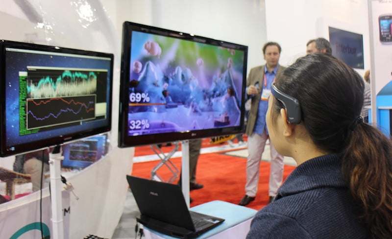 Muse brain-sensing headband invites you in for a little mind game