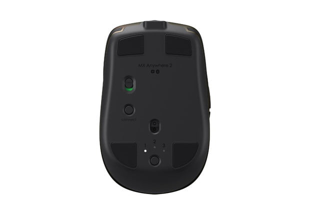logitech introduces mx anywhere 2 wireless mobile mouse mxanywhere2 bottom