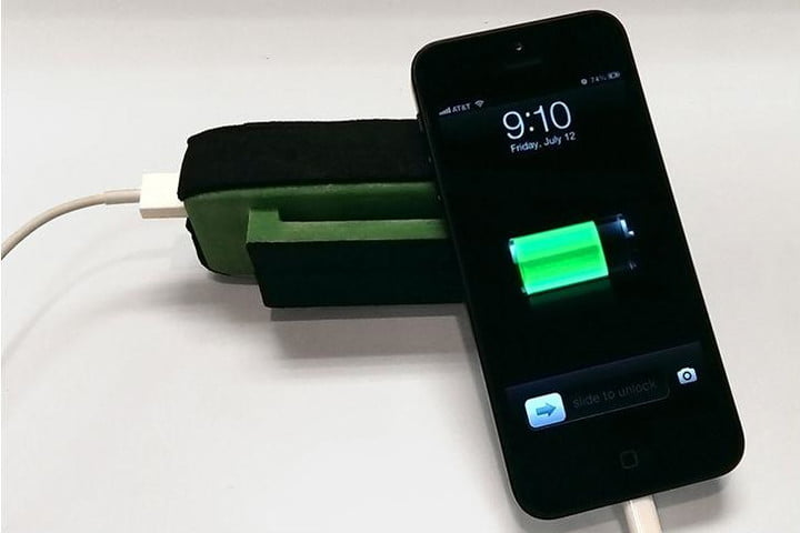 Jump around! MyPower charges your gadgets as you move