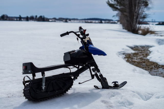 The Naseka Electric Snowmobile is Built for Kids But You'll Want One