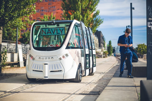 the challenges of driverless shuttles in smart cities navya autonomous shuttle