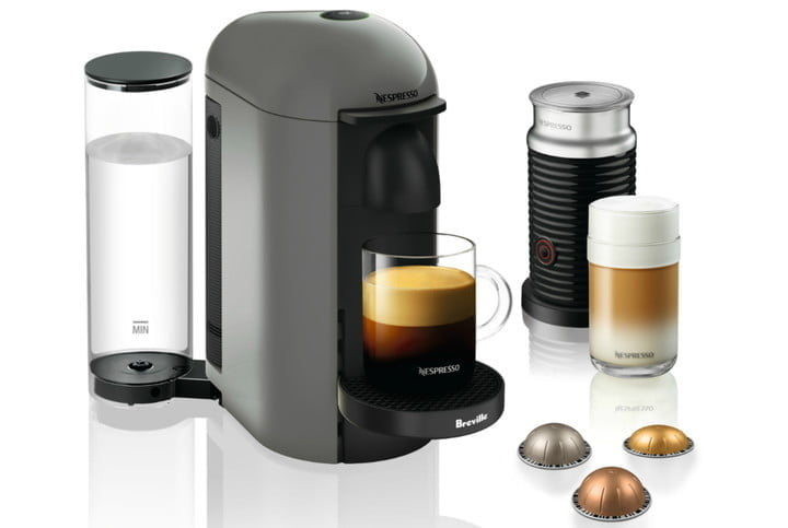 best walmart deals on keurig and nespresso vertuoplus coffee espresso maker by breville with aeroccino milk frother