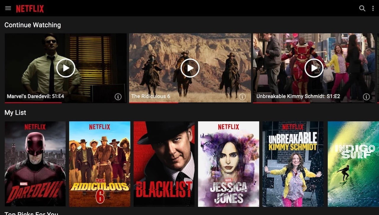 best android apps chrome os netflix screenshot