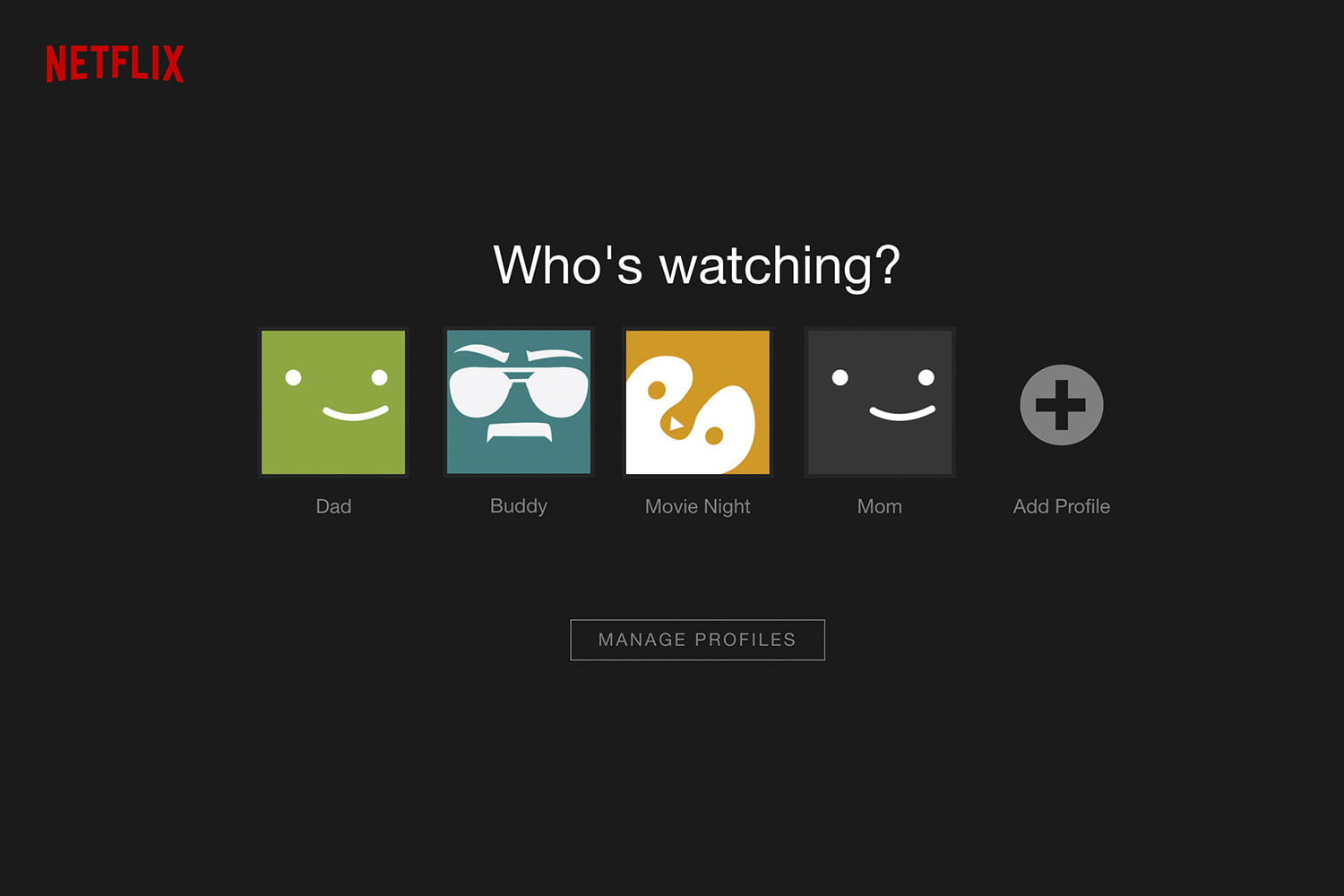 how to change a profile name on netflix