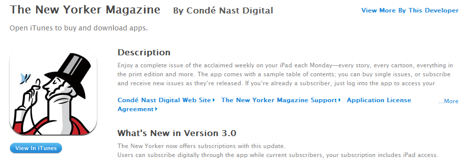 Condè Nast bringing The New Yorker and more to the iPad | Digital Trends
