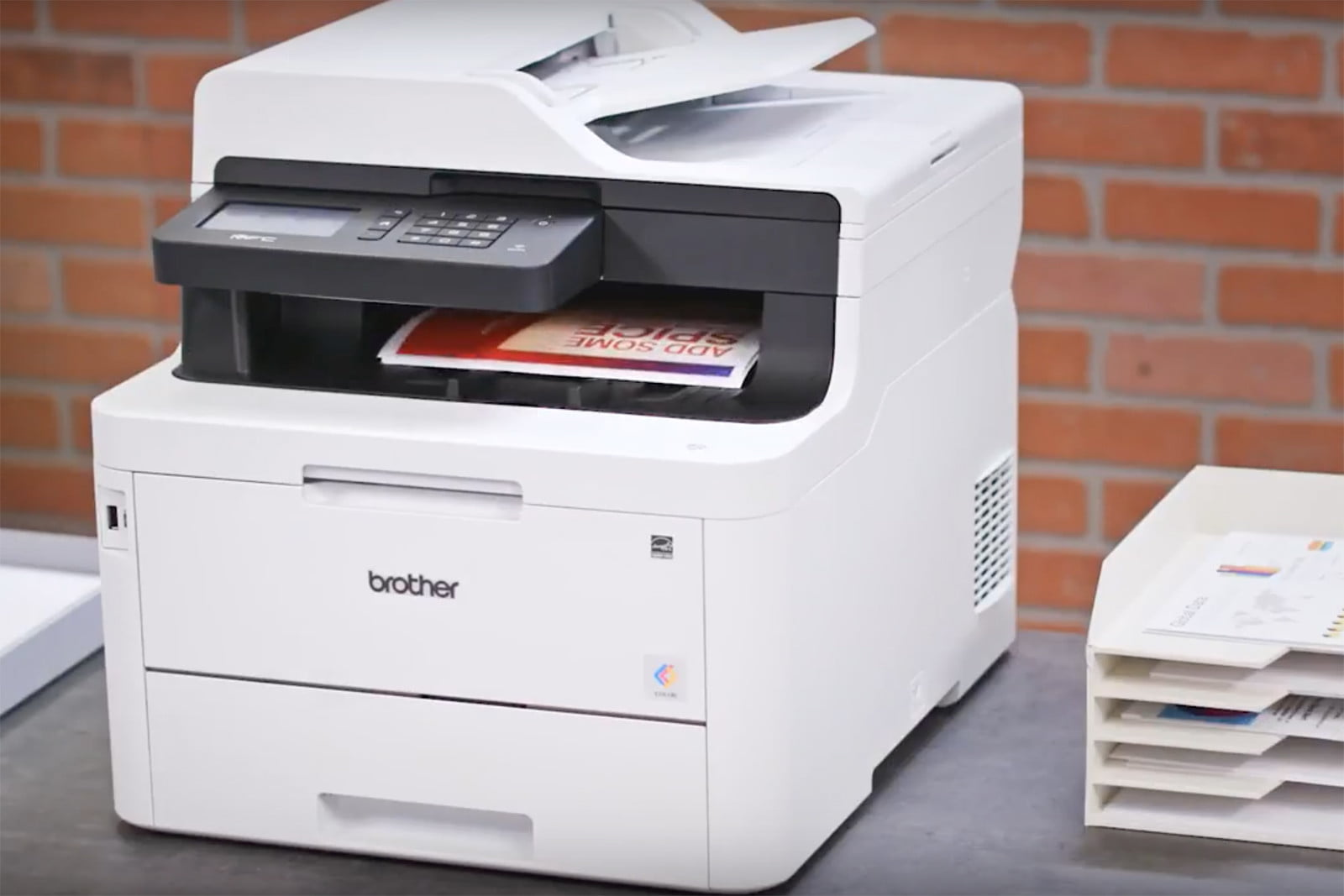 Brother's New Laser Printers Spit Out Prints with a Tap