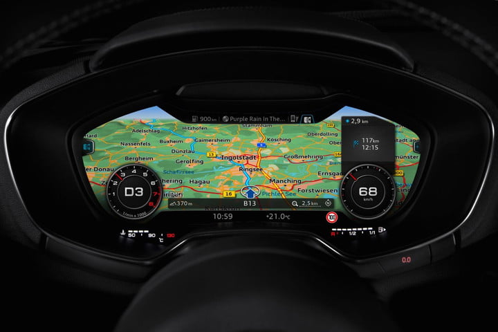 refreshed audi a3 could get 'virtual cockpit' display | digital trends