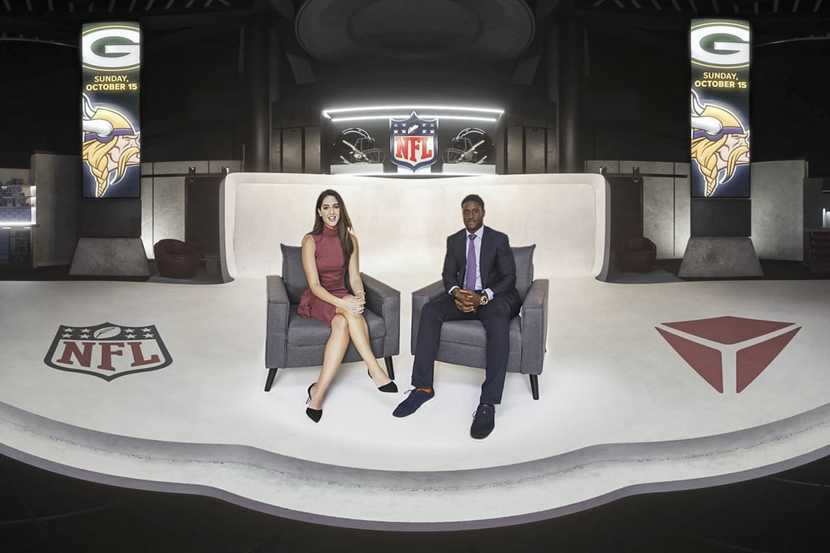 reggie bush may be first big vr sports commentator nfl post game highlights 2017 nextvr feat head