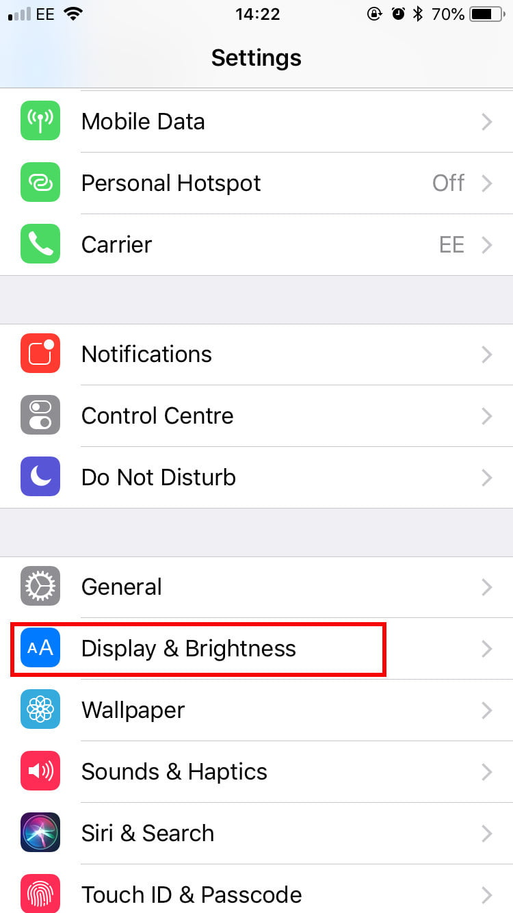 how to use a blue light filter on your phone digital trendshow to use night shift on iphone