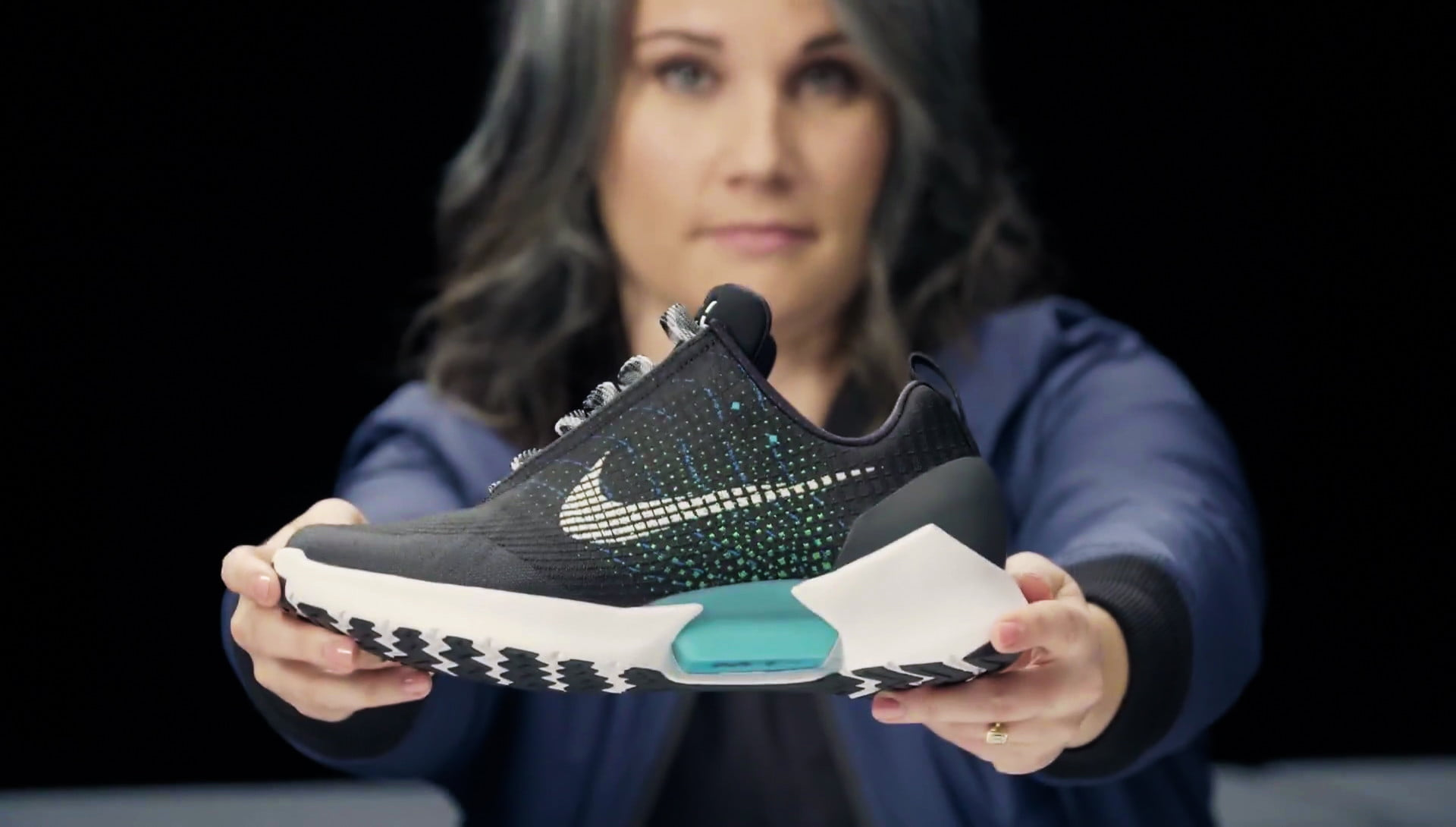 8f091908aa4e nike hyperadapt 10 self lacing sneakers video interview 1 0 tiffany beers