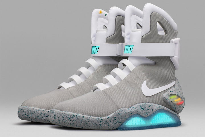 d15aa17ad394 Self-lacing  Back to the Future  sneakers auction for  100