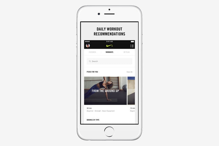 best health and fitness apps for iphone nike training club
