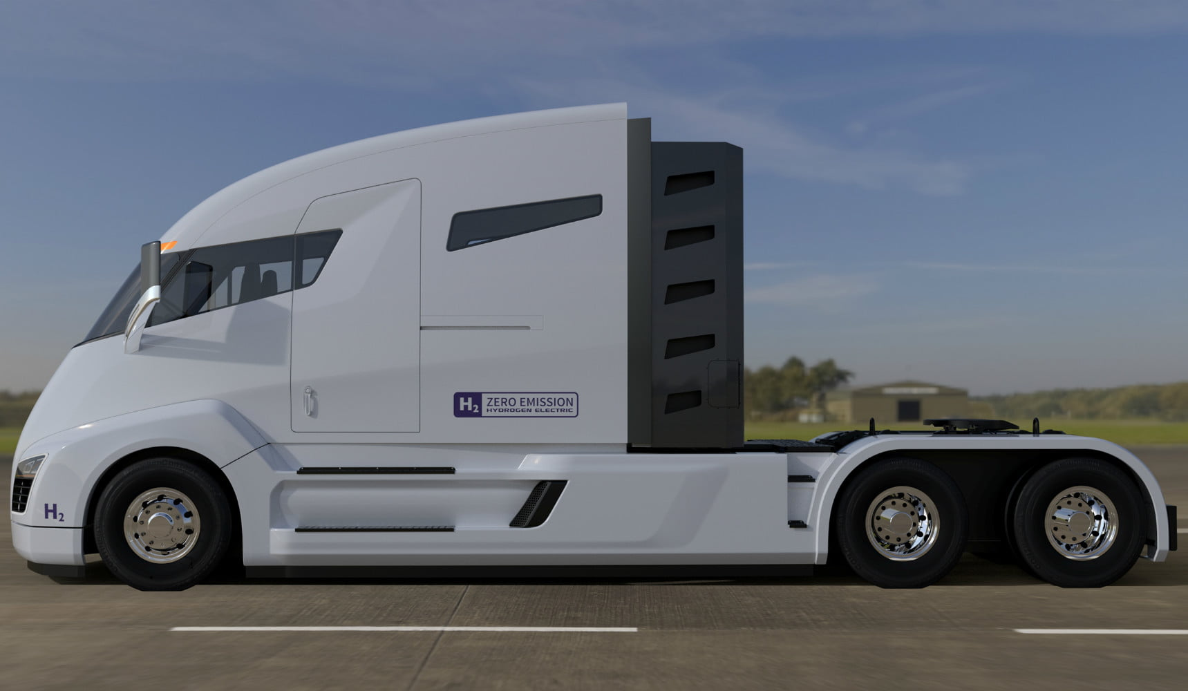 Nikola Motors Changes Electric Truck Train To Fuel Cell Digital Trends