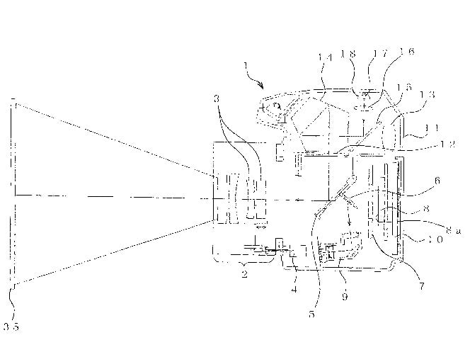nikon patents a dslr with a built in projector digital trends Home Theater Wiring Diagram nikon patent projector dslr digital cameras with built in projectors