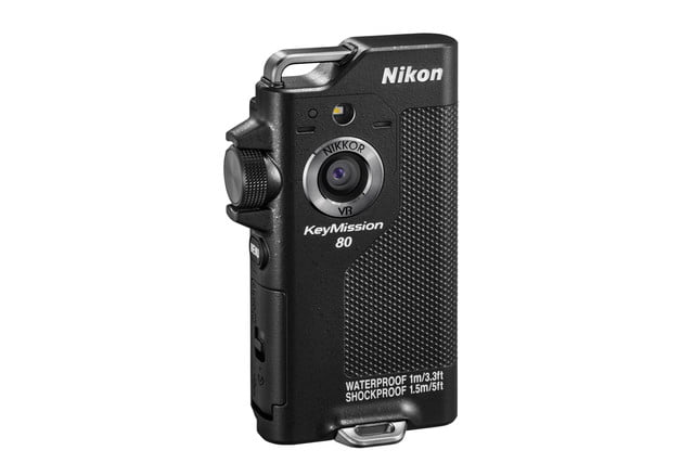 nikon keymission 170 80 action cam bk front right