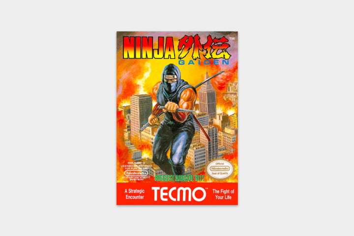 best nes games ever ninja gaiden cover