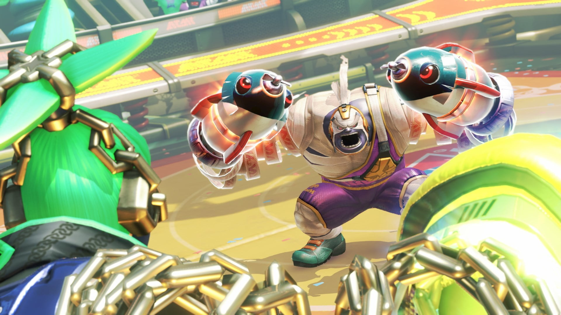 Image result for ARMS Nintendo Switch