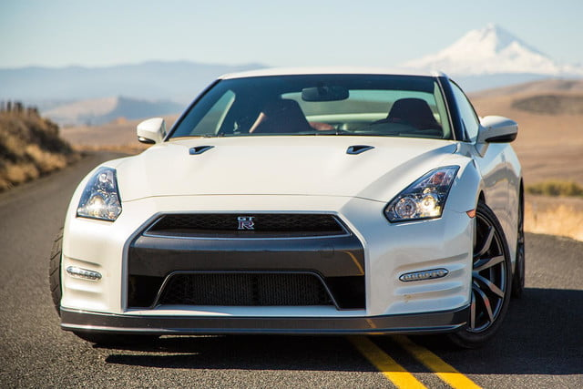Nissan GT R back front angle
