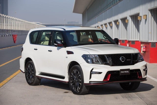 Nissan Patrol Nismo Pictures Performance Specs Digital Trends