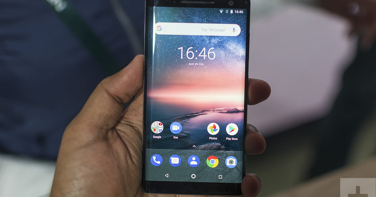 Nokia 8 Sirocco Hands On Review Digital Trends