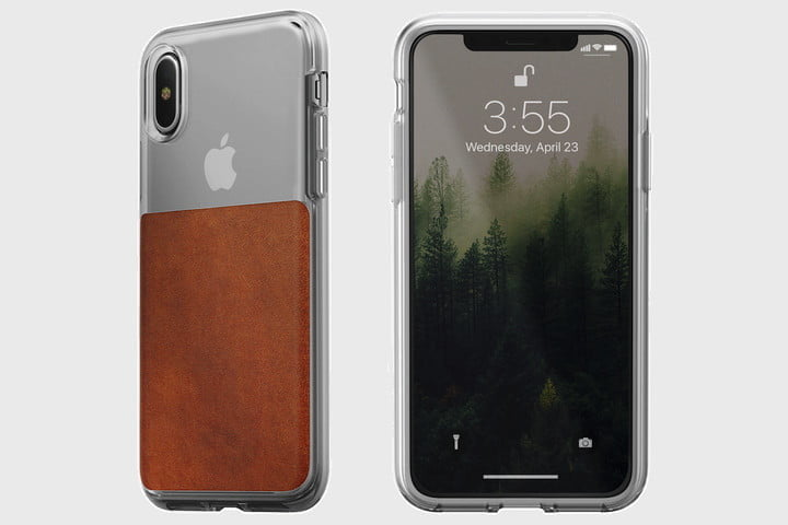 Nomad Always Makes Great Use Of Leather In Its Cases And The Clear Case For IPhone X May Be Our Favorite Design From Company Yet