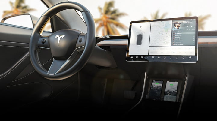nomad wireless charger tesla model 3 for 00