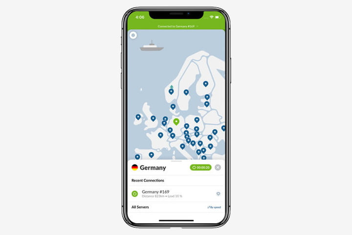 Nord VPN for iOS