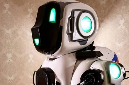 High-tech dancing robot turns out to be a guy in a costume