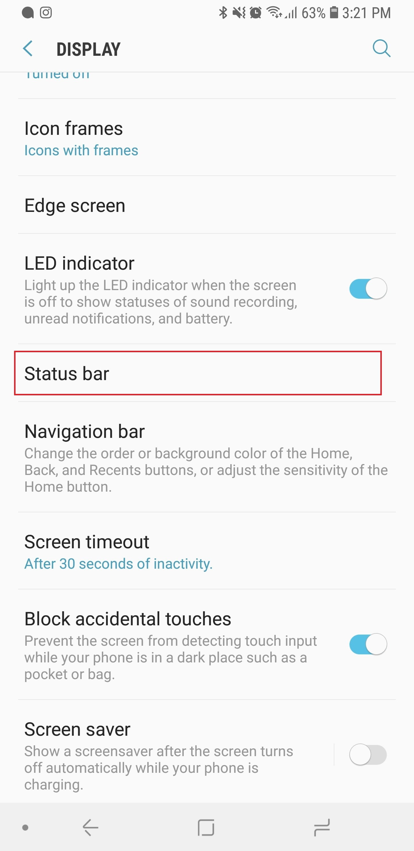 10 Settings You Need To Change On Your Samsung Galaxy Note 9 Request Use The Form Below Delete This Led Tv Diagram Block Pdf Status Bar