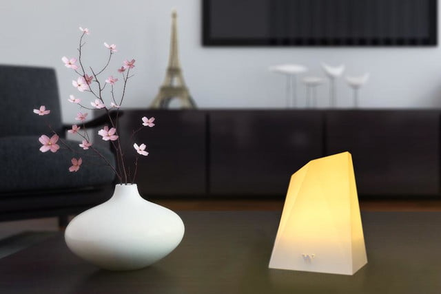 notti smart lamp lights up with notifications