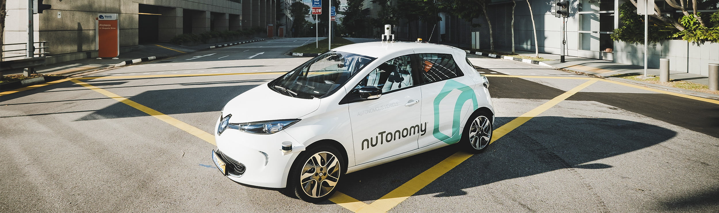 nuTonomy self-driving car