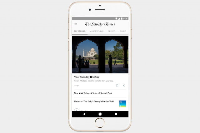 best news apps ny times