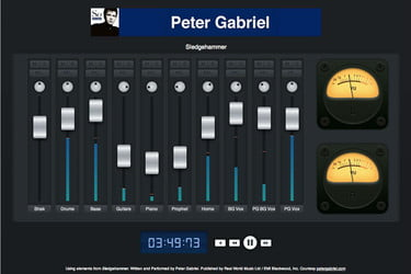Free NYU course teaches you to mix music with Peter Gabriel tracks