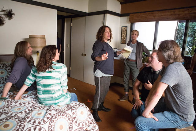 On the set of Transparent