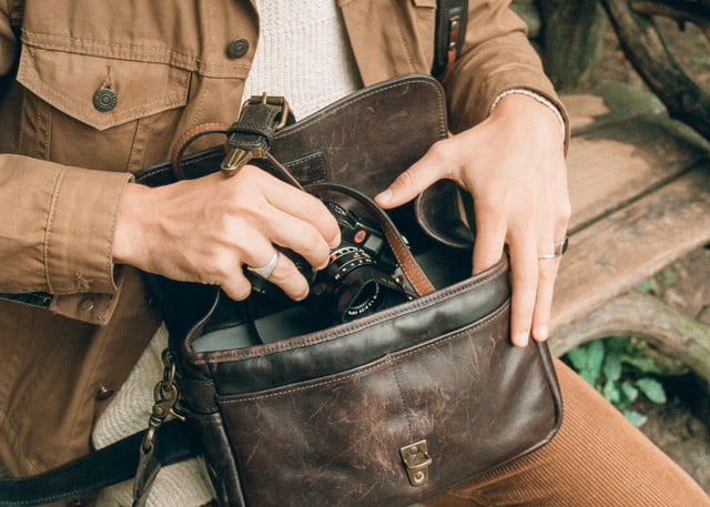 best camera bags ona leather bowery