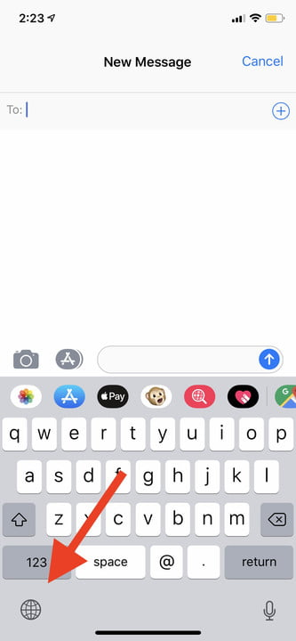 iphone xs tips and tricks one handed keyboard 1