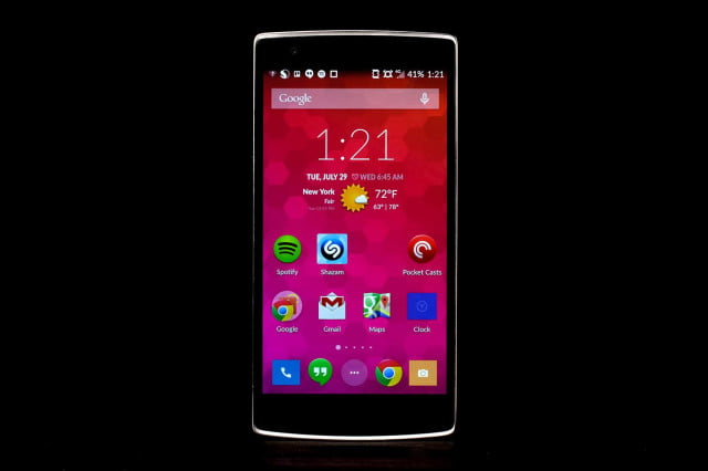 ONE Plus 1 front home