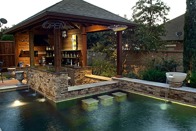 amazing pools with swim up bars one specialty bar pool 1