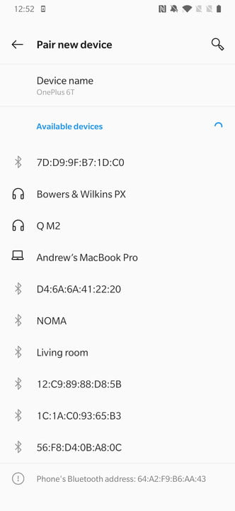 how to use bluetooth apt x hd oneplus 5t 6t pairing