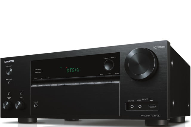 onkyo new 2016 receivers tx nr757 front